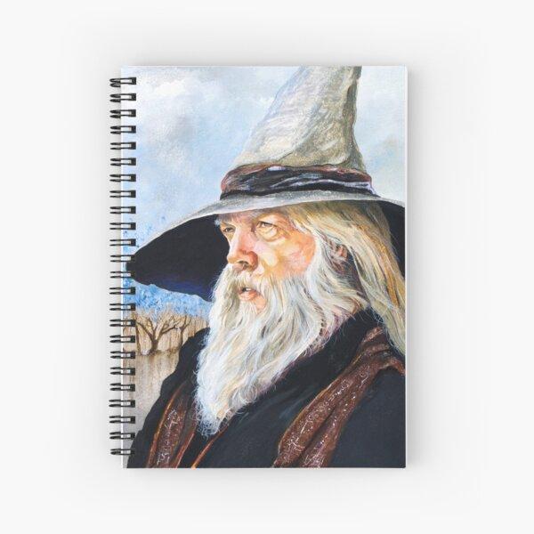JR the Wizard Bard Spiral Notebook