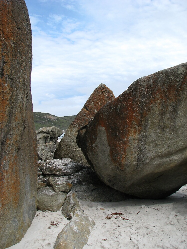 Boulders at Squeaky beach - Wilson's Prom. by mrsnatetah