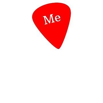Pick Me Guitar Pick by jutulen