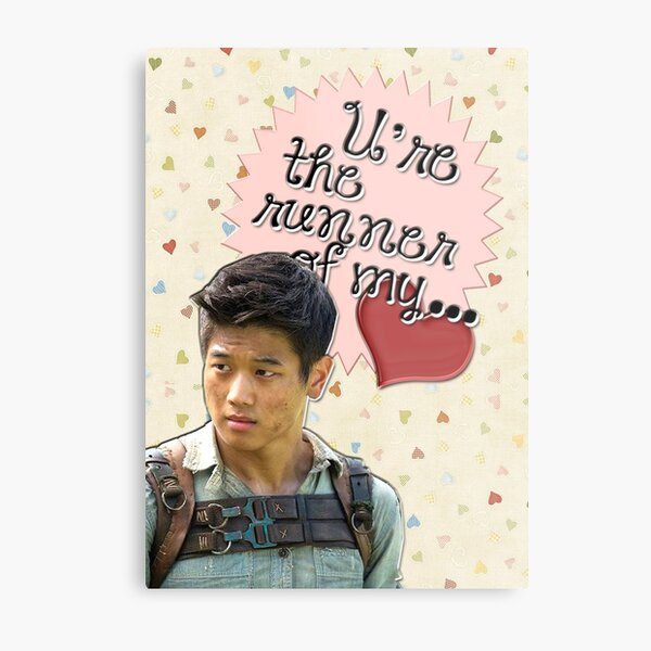 The Maze Runner Greeting Cards [Minho] Metal Print