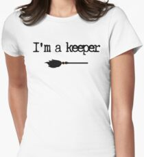 Keeper Women's Fitted T-Shirt