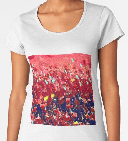 Magical poppy field Premium Scoop T-Shirt