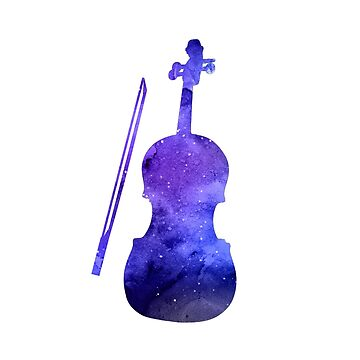 Violin Silhouette by GwendolynFrost