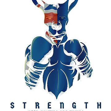 STRENGTH,AUSTRALIAN BOXING KANGAROO T-shirt by arkanabbas2000