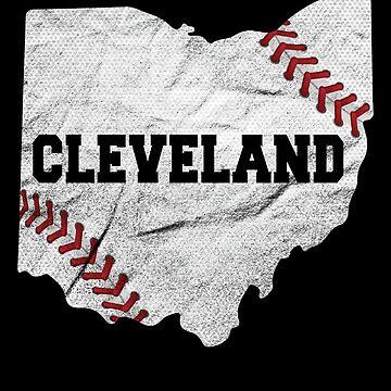 'Cleveland Ohio-Baseball' Cool Baseball 216 Cleveland Gift by leyogi