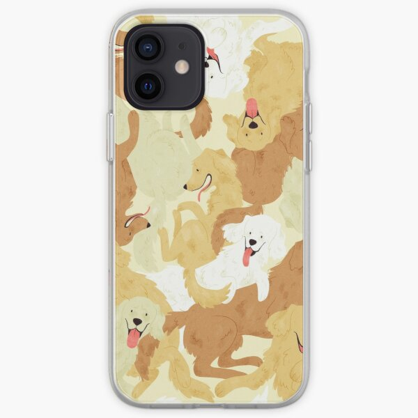 Golden retriever iPhone Soft Case