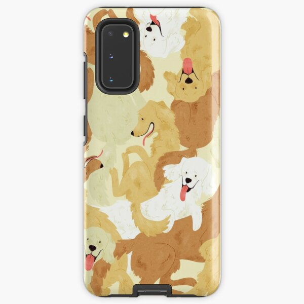 Golden retriever Samsung Galaxy Tough Case