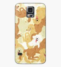Golden Retriever Hülle & Klebefolie für Samsung Galaxy