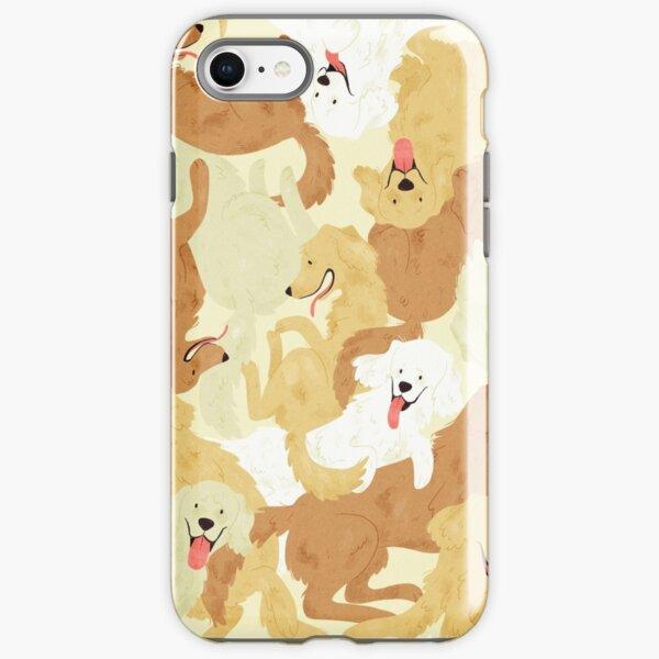 Golden retriever iPhone Tough Case