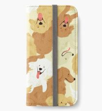 Golden retriever iPhone Wallet/Case/Skin