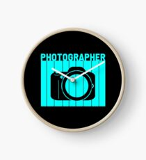 Photographer - Photographer.. Clock