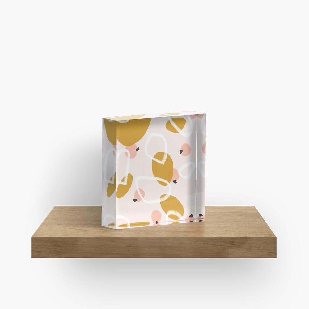 Abstract Fall III #redbubble #abstractart Acrylic Block