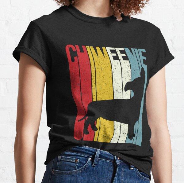 'Chiweenie Silhouette' Cute Chiweenie  Dog Gift Classic T-Shirt