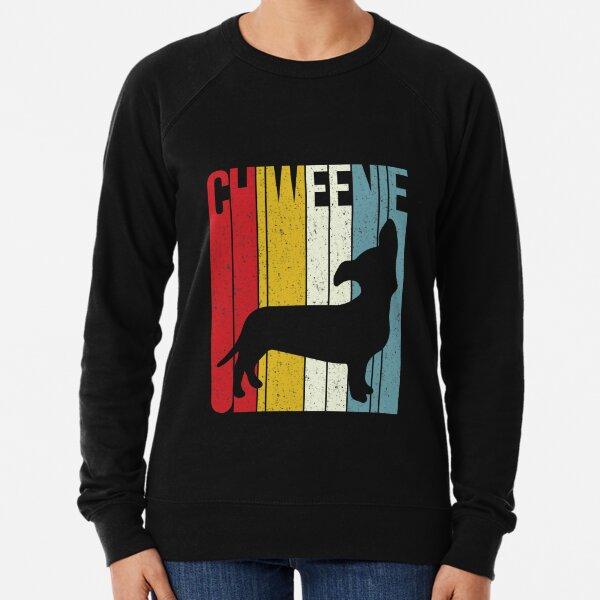 'Chiweenie Silhouette' Cute Chiweenie  Dog Gift Lightweight Sweatshirt