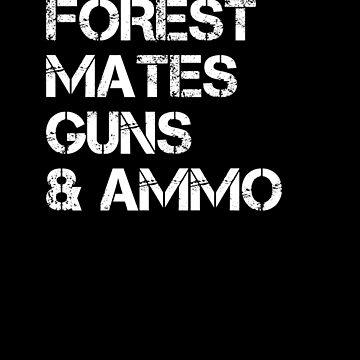 Forest Mates Guns Ammo by hadicazvysavaca
