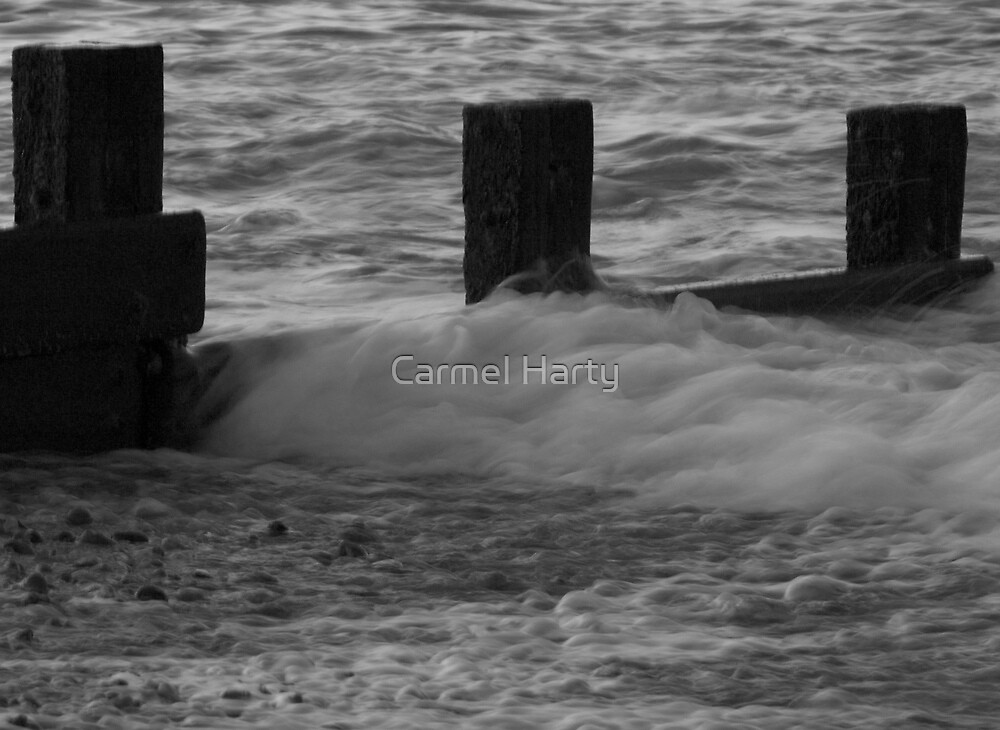 Textures in Hastings by Carmel Harty