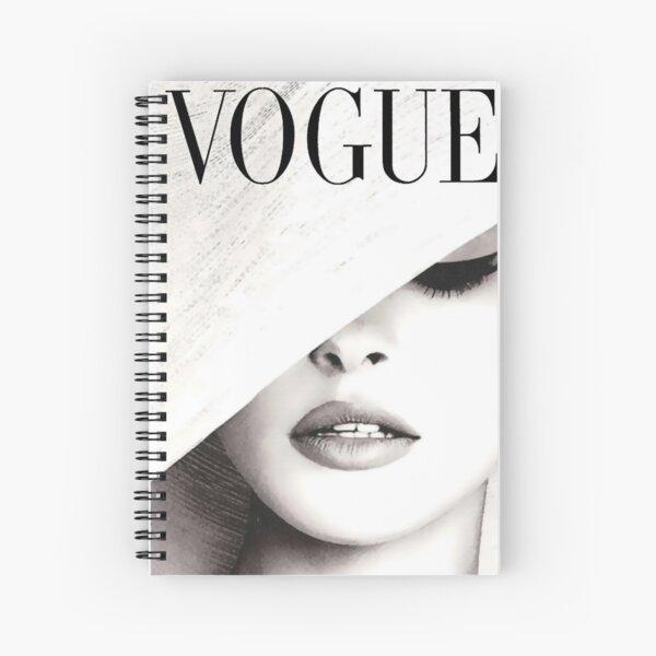 Vogue Covert Wall Art Spiral Notebook