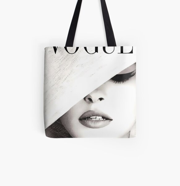 Vogue Covert Wall Art All Over Print Tote Bag