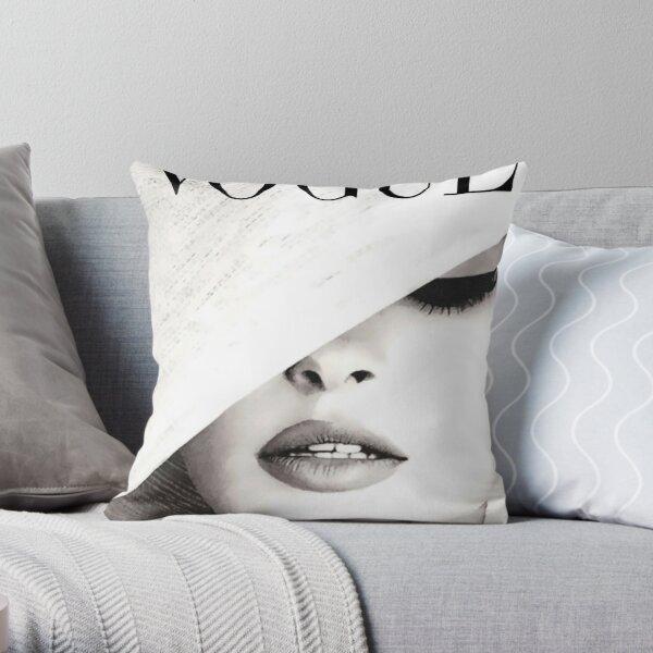 Vogue Covert Wall Art Throw Pillow