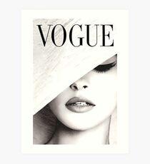 Vogue Covert Wand Kunst Kunstdruck