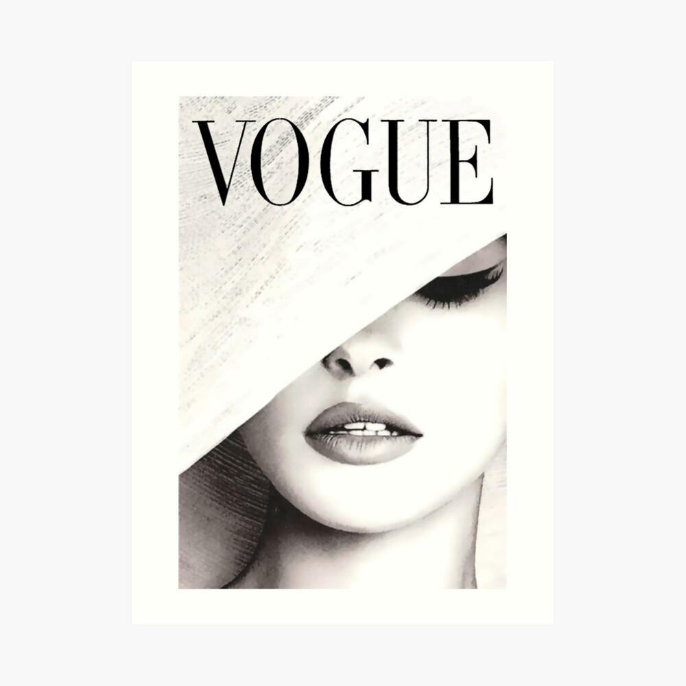Vogue Covert Wall Art Art Print