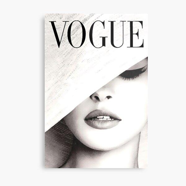 Vogue Covert Wall Art Metal Print