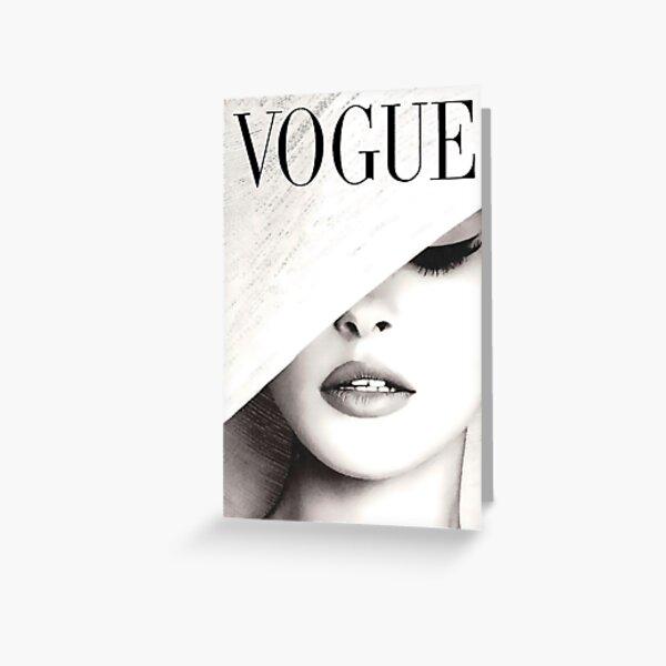 Vogue Covert Wall Art Greeting Card