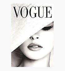 Vogue Covert Wand Kunst Fotodruck