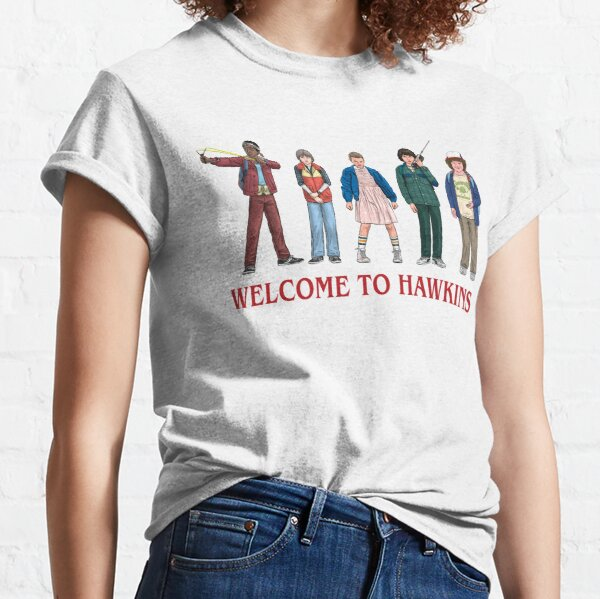 WELCOME TO HAWKINS - 2016 Classic T-Shirt