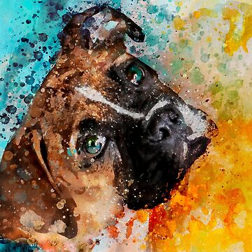 Custom dog Portrait by NoraMohammed