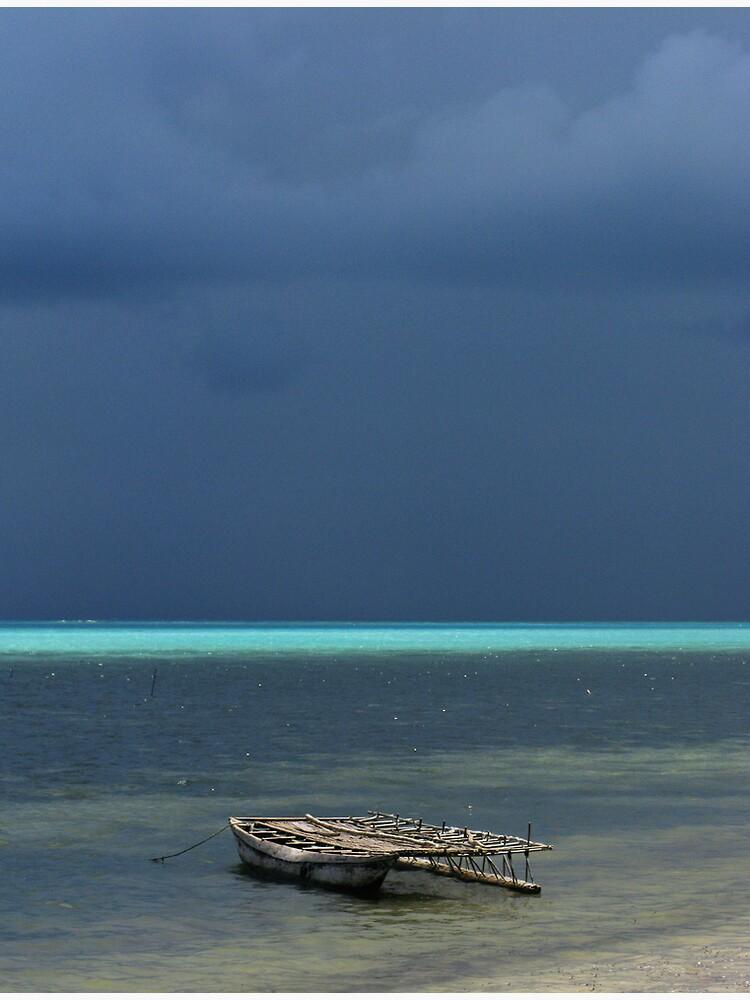 Canoe at Kimuta by neoniphon