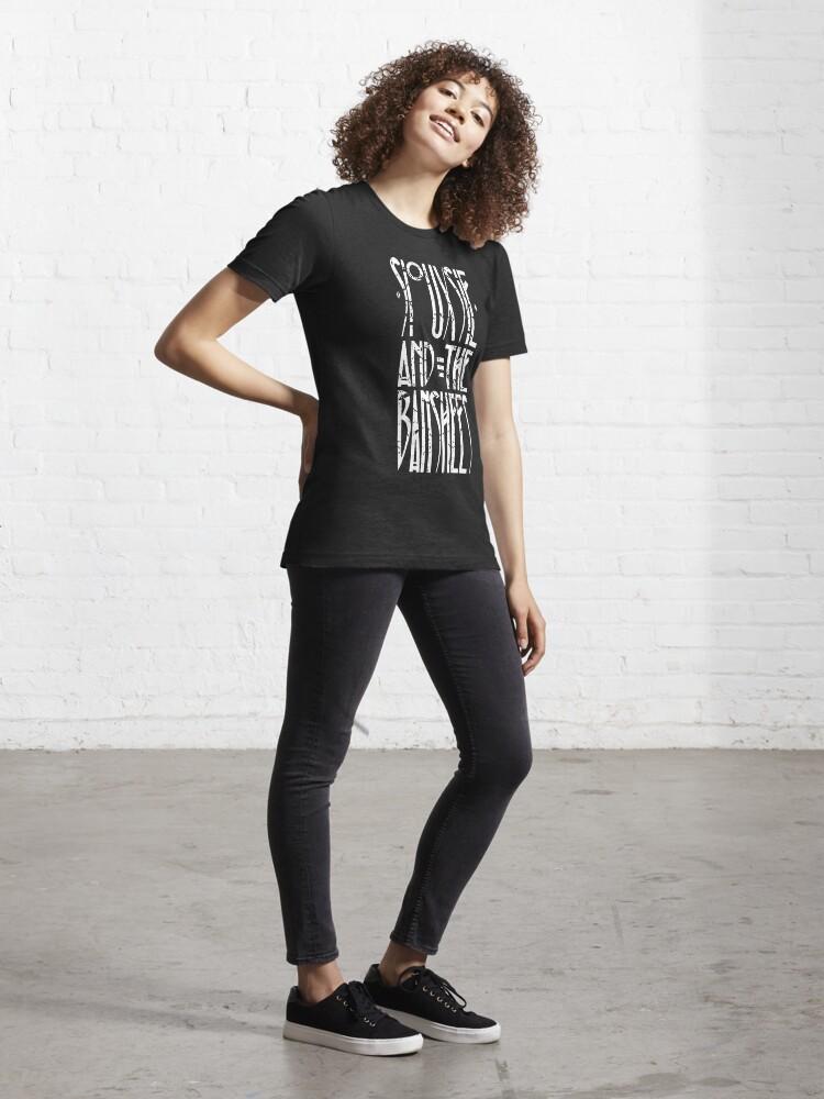 Alternate view of Souuxsie & The Banshees Logo  Essential T-Shirt