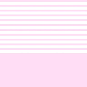 Girly Pink Stripes Above Girly Pink by rewstudio