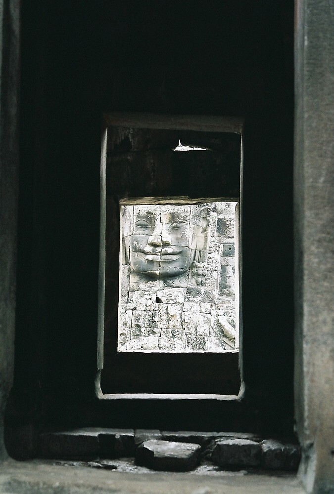 The Bayon doorway, Ankor Wat by Sven Klein