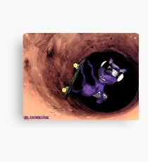 Blindskunk - Ride the Pipe ! Canvas Print