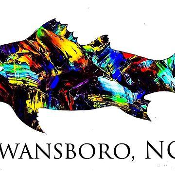 Swansboro NC redfish  by barryknauff