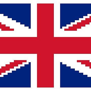 8 Bit Union Pixel Jack by tinybiscuits