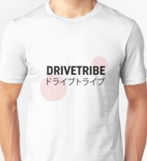 DriveTribe Japanese Circle Design  Unisex T-Shirt
