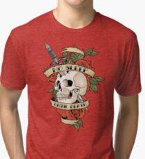 No Sleep Until Death Tri-blend T-Shirt