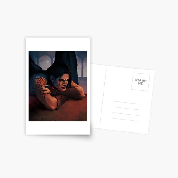 Portrait de Cassian Illyrian Carte postale