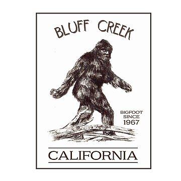 Bluff Creek Bigfoot by DedEye