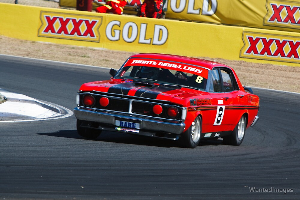 Rod Wilson - 1972 Ford Falcon XY GTHO by WantedImages