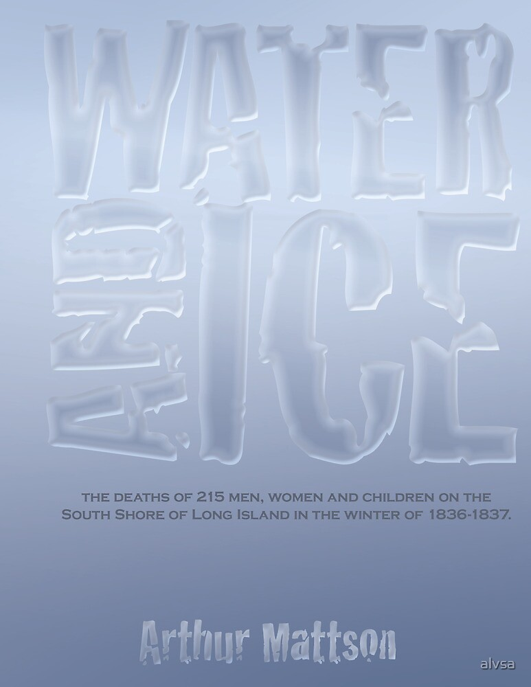 Book Cover Proposal - Water & Ice by alvsa