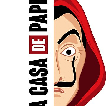 La Casa de Papel - Half Dali Mask by hansk87