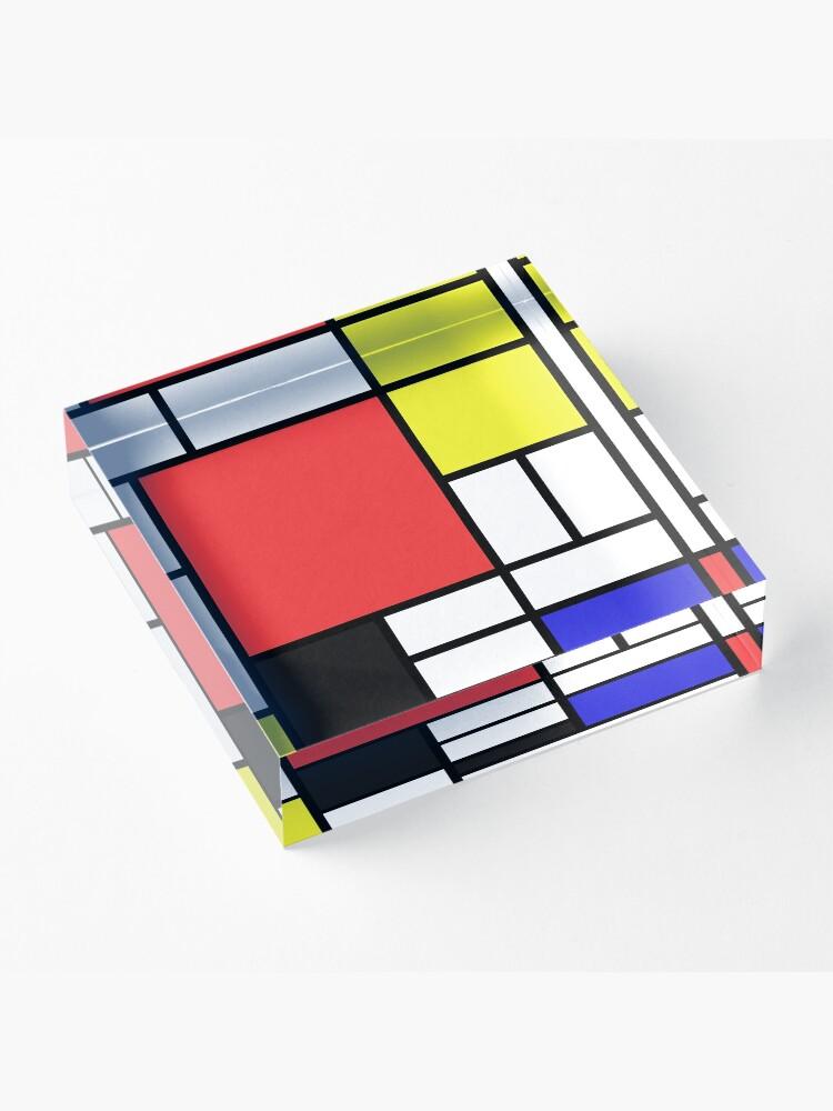 Alternate view of Mondrian Acrylic Block