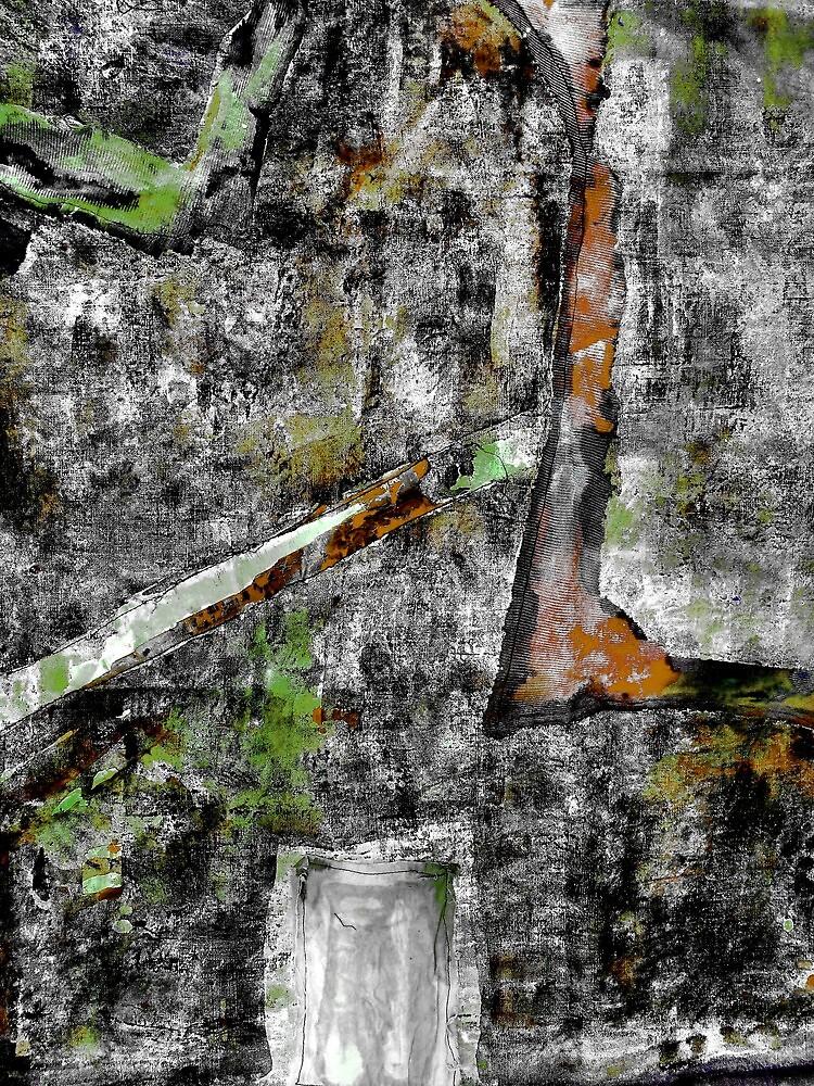 Sometimes It Rains. ( Grey, Wet Day ) by Richard  Tuvey