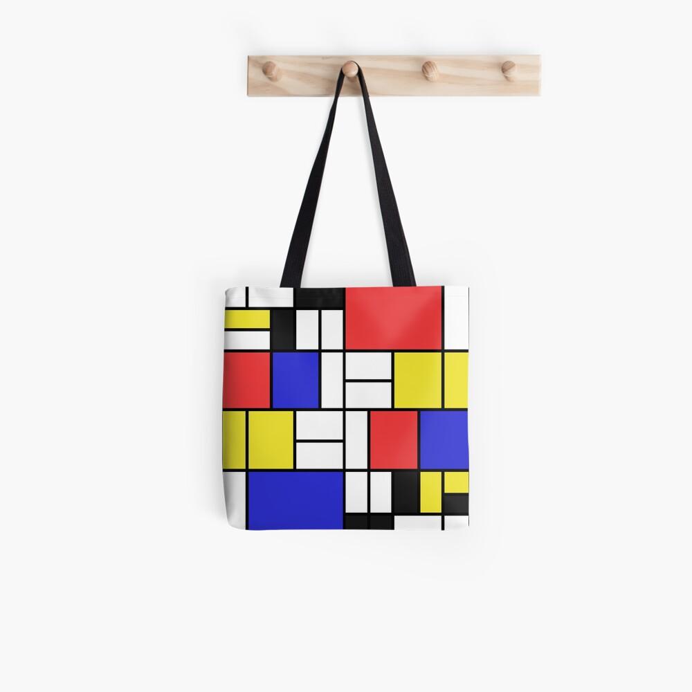 Mondrian #2 Tote Bag
