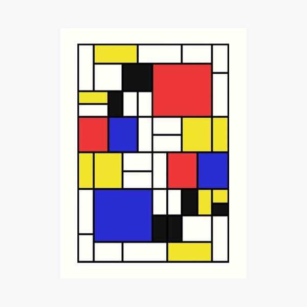 Mondrian #2 Art Print