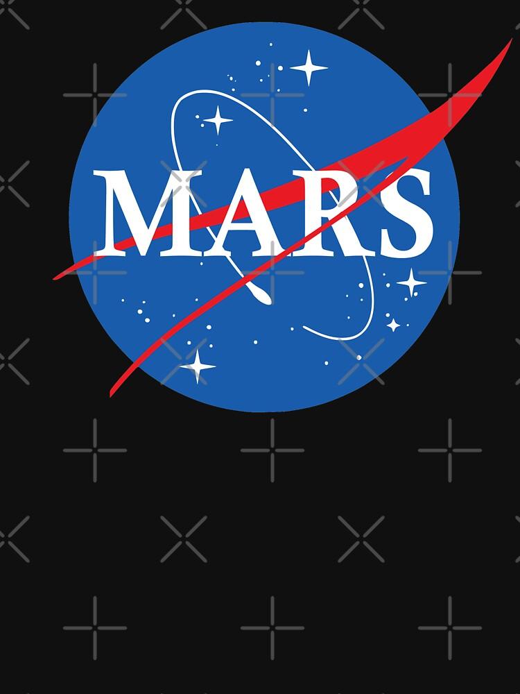 Nasa Logo Mars by idaspark