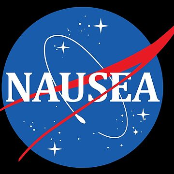 Nasa Logo Nausea by idaspark